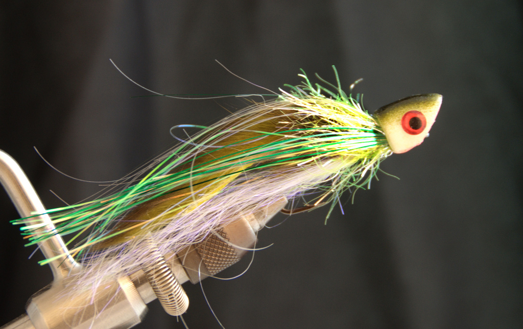zaggin 39 zook bass popper fly fish food fly tying and