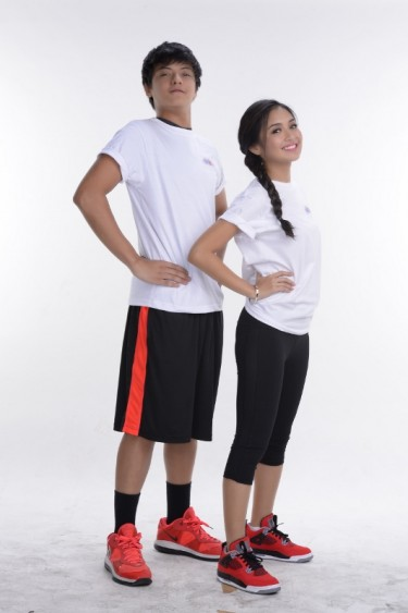 Daniel Padilla taller to Kathryn Bernardo for about 5 inches.