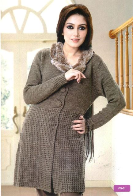 Ladies winter sweater 2013