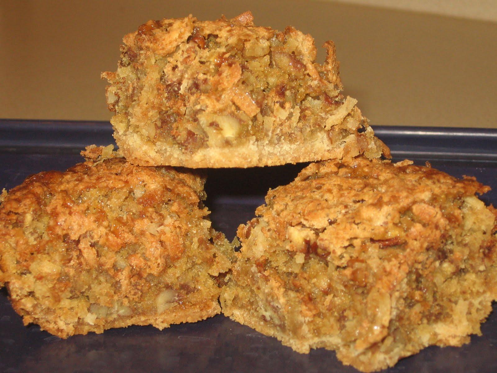 Mel's Kitchen: Coconut-Pecan Bars