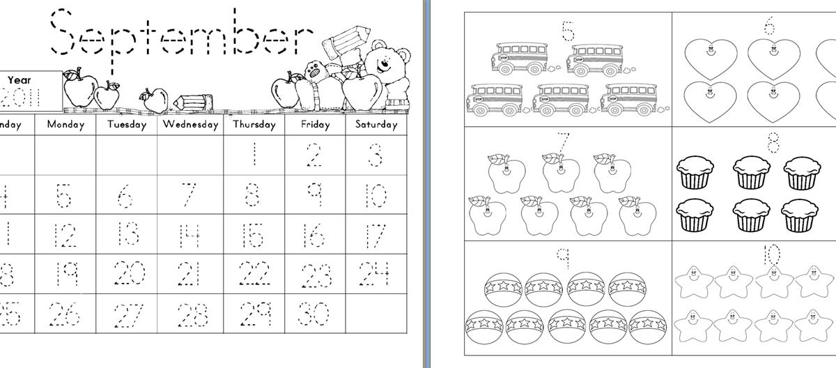 Calendar Math Kindergarten : Aloha kindergarten calendar math journals