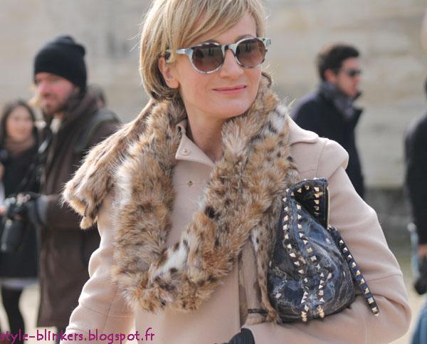 Patricia Kaas @ Valentino - Paris Fashion Week Womenswear Fall/Winter 2012 3013