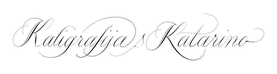 Kaligrafija s Katarino