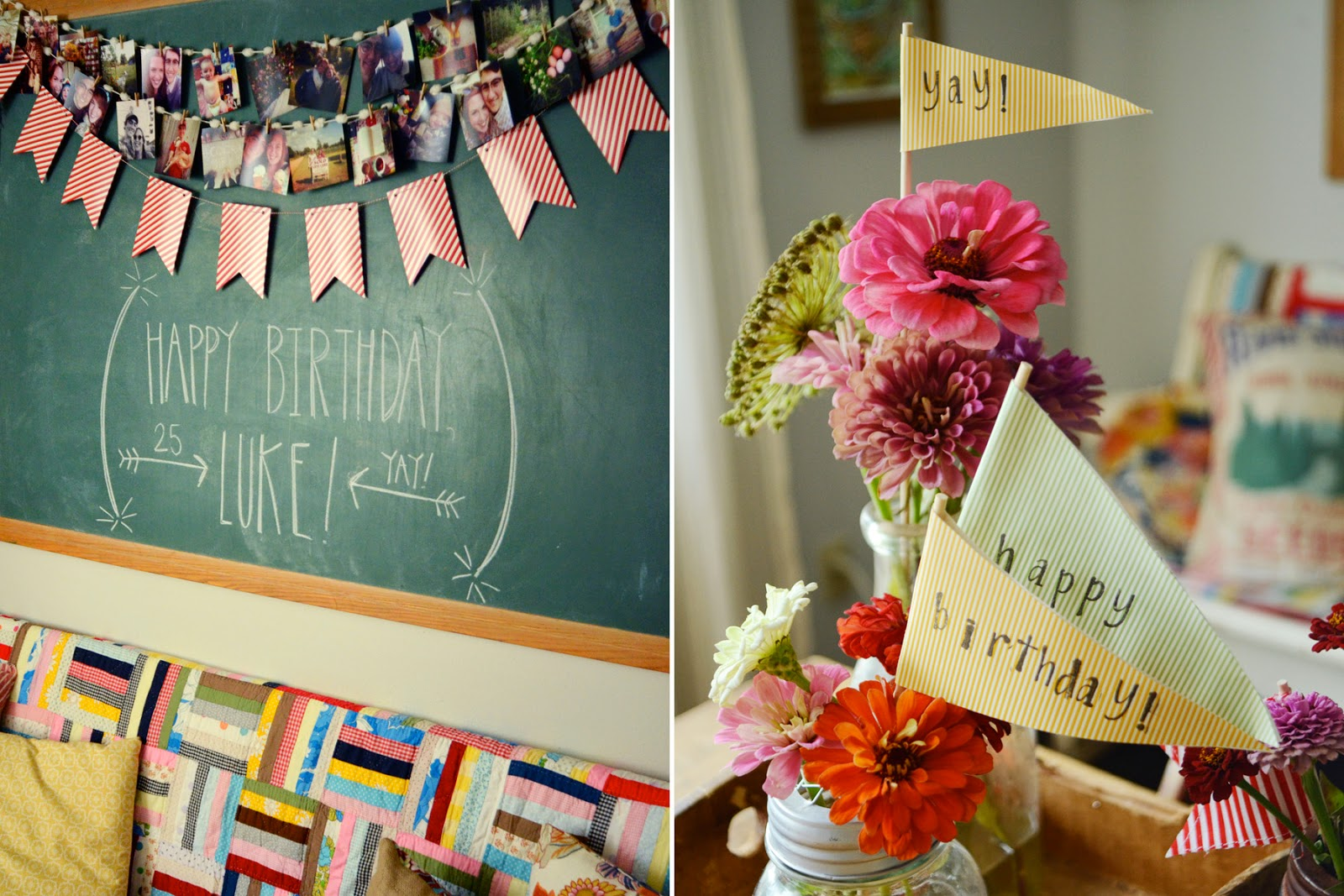 natalie creates simple birthday celebration ideas on a budget