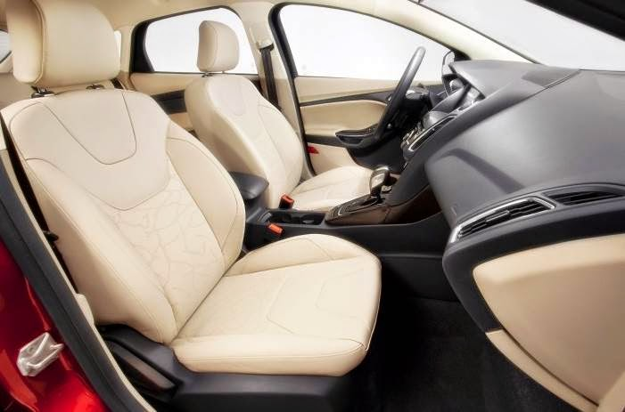 2015 Ford Focus Electric Interior