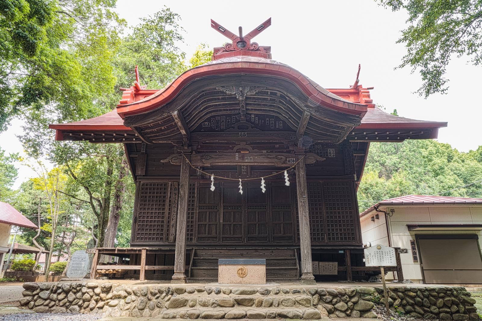 元町八幡神社の写真