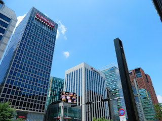 skyscrapers in Gangnam area, Seoul