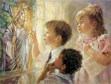Crianças Orando, Presente de Deus!