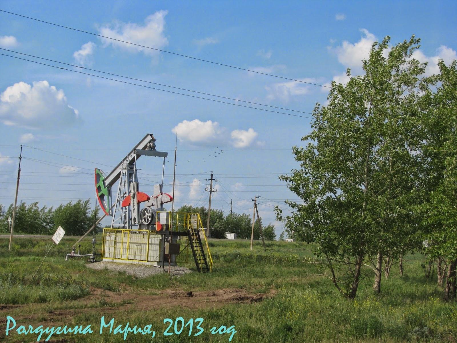 качают нефть Татарстан фото