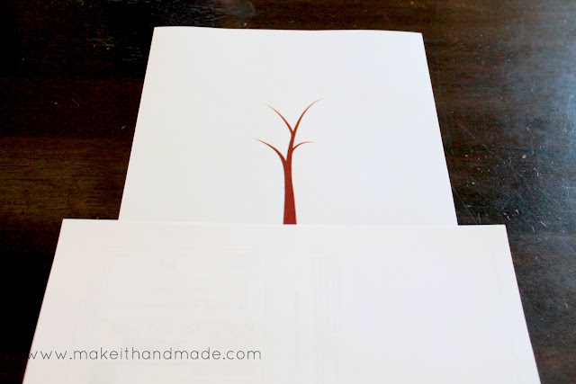 Grandparent's Day Handprint Tree! -- Free printable (mask quotation)
