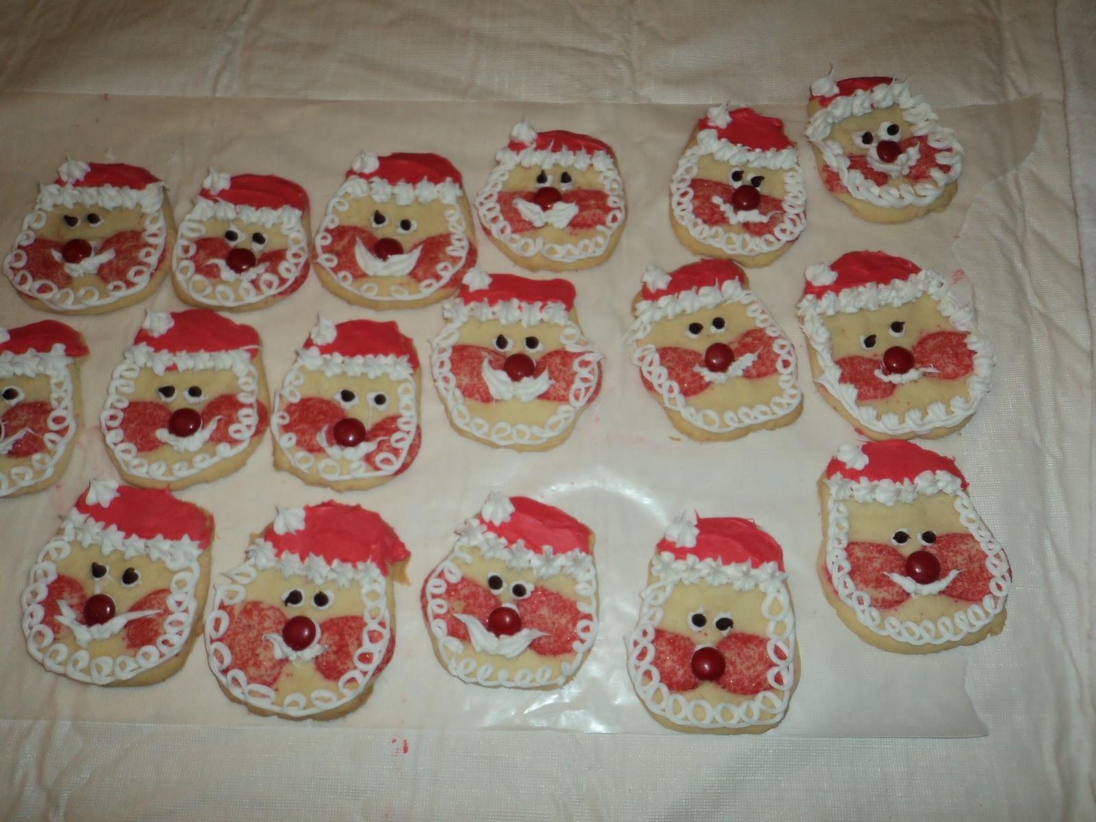 Life S A Beach Santa Claus Cookies