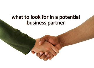 Handshake, potential business partners