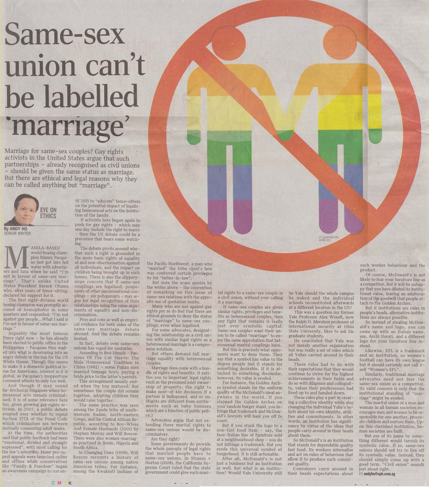 Against same sex marriage articles picture 45