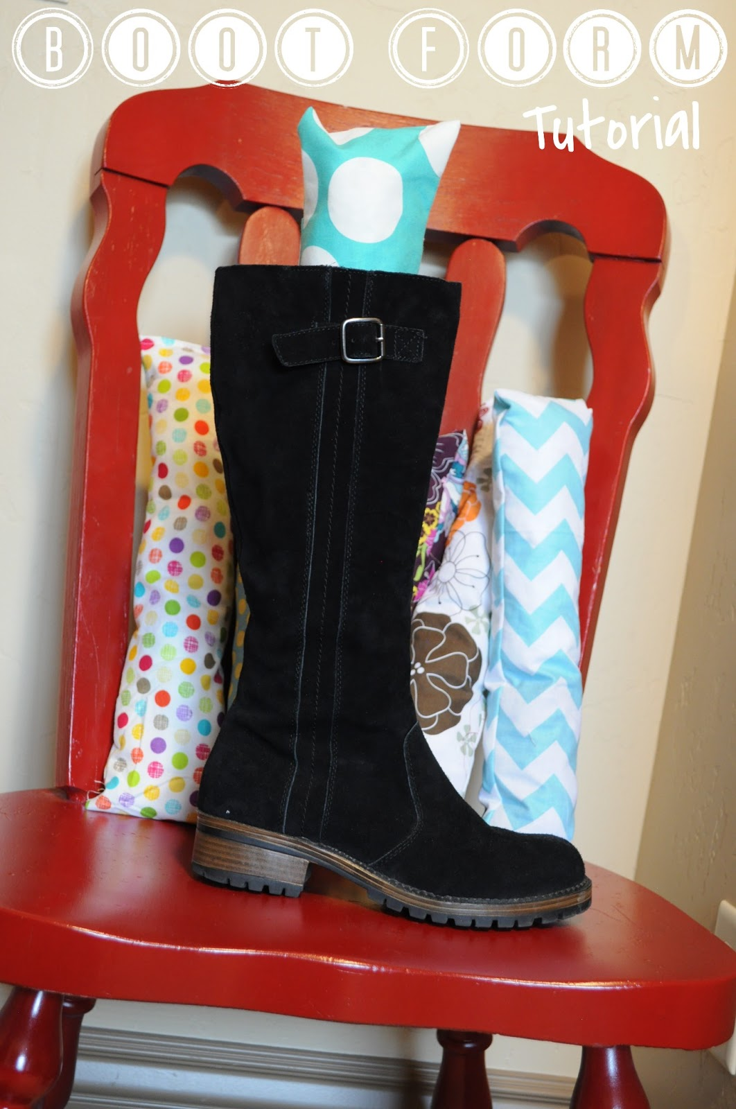 the fabric boot buddy fabric boot form tutorial