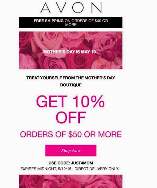 Avon Mother's Day Discount Code