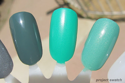 Sinful Colors Leap Flog, Rise and Shine, Mint Apple