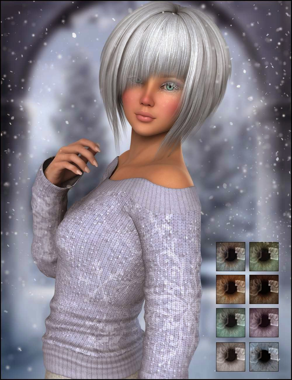 DAZ 3D - Décembre pour Belle 6