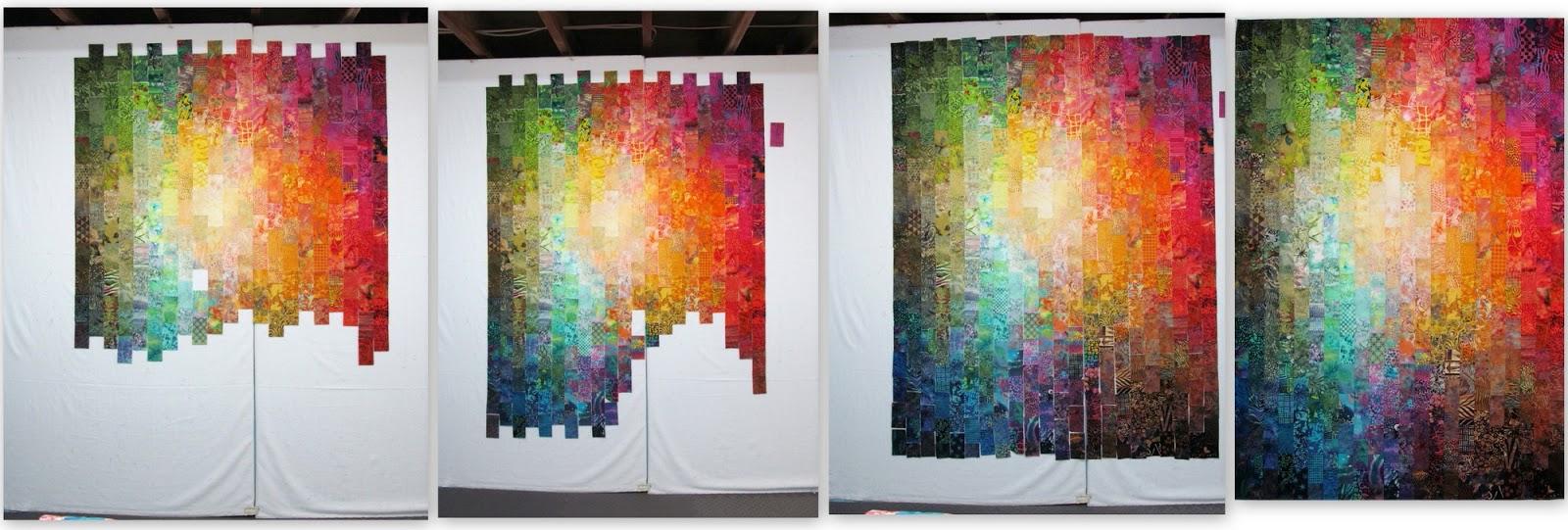 Exuberant Color : June 2015 : color wash quilts - Adamdwight.com
