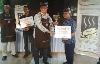 Kontes kopi Spesialty Indonesia ke 7 di Banyuwangi.