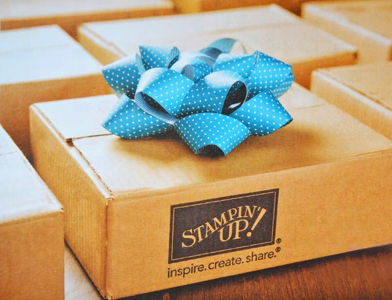 Get a Stampin' Up starter kit, the perfect Christmas present!