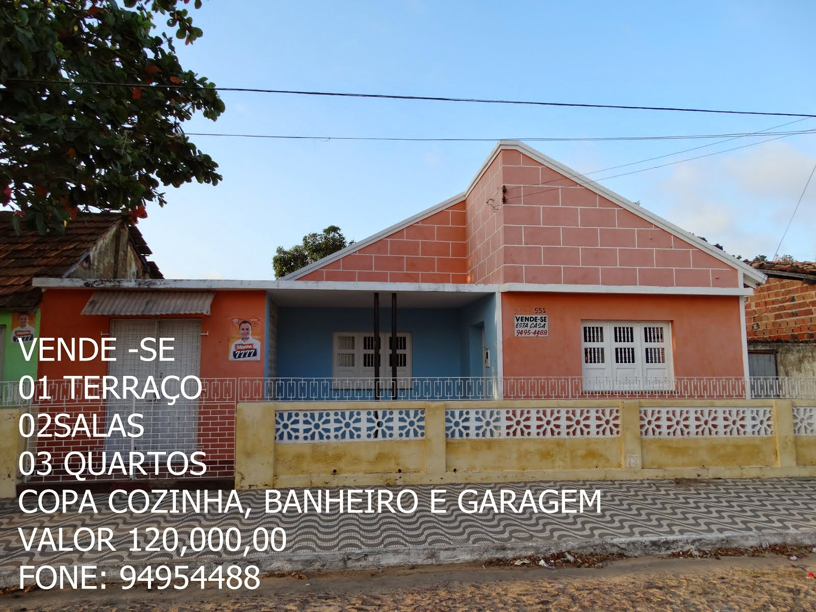 CLASSIFICADO VENDE -SE ESTA CASA