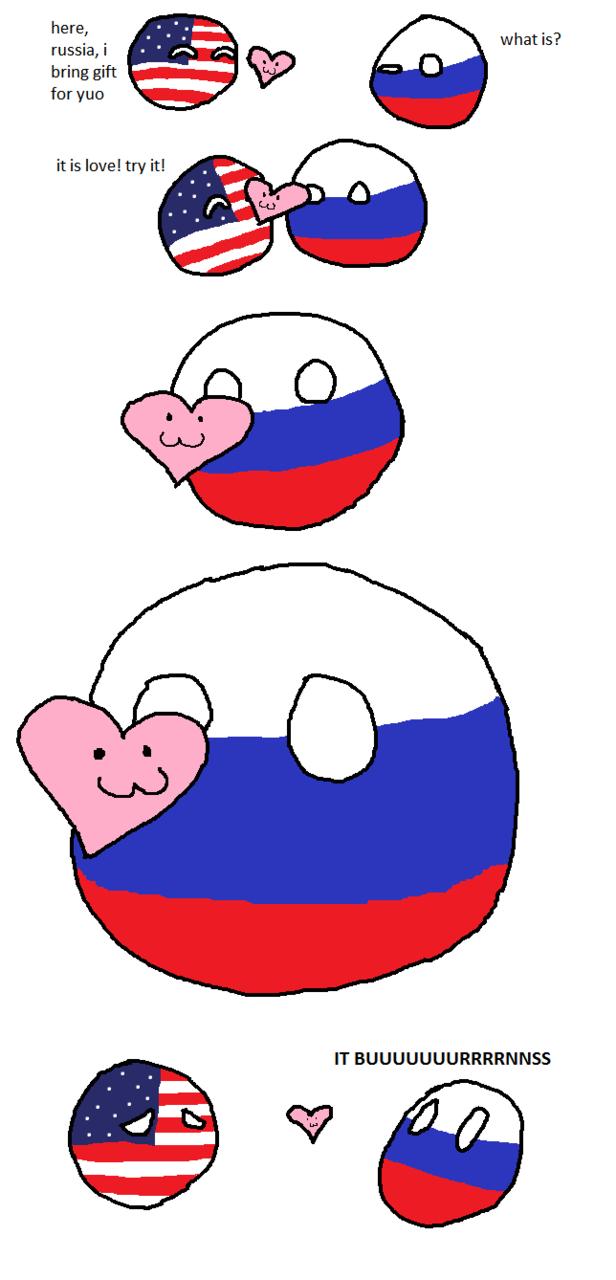 комиксы polandball