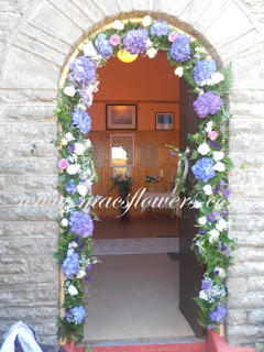 wedding flowers star of the sea church quilty county clare
