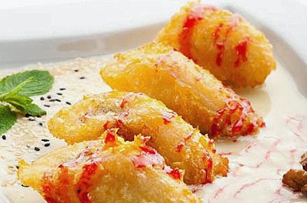 Resep pisang keju, pisang keju strawberry, cara membuat pisang keju, mudah di buat