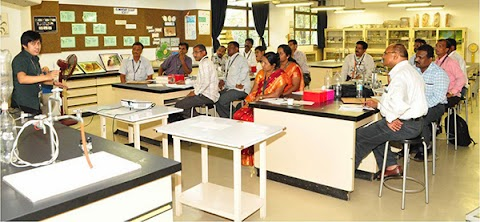 Indian educators visit NISMED