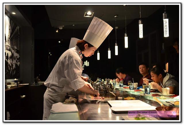 夏慕尼新香榭鐵板燒 - 廚師專業的料理