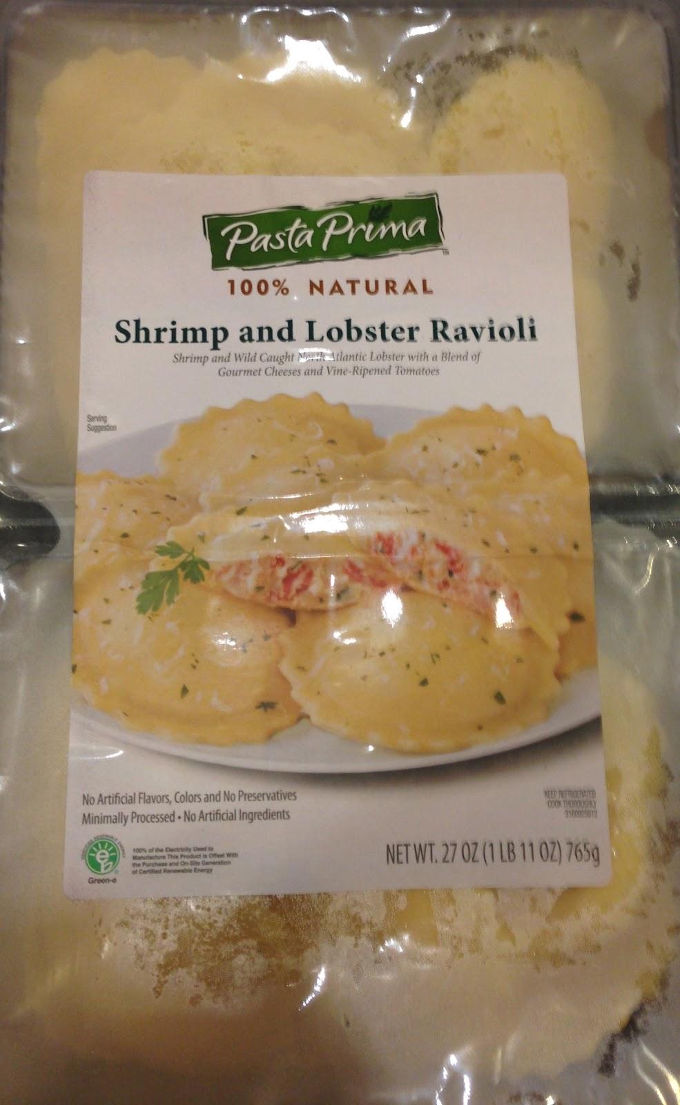 TASTE OF HAWAII: PASTA PRIMA - SHRIMP AND LOBSTER RAVIOLI