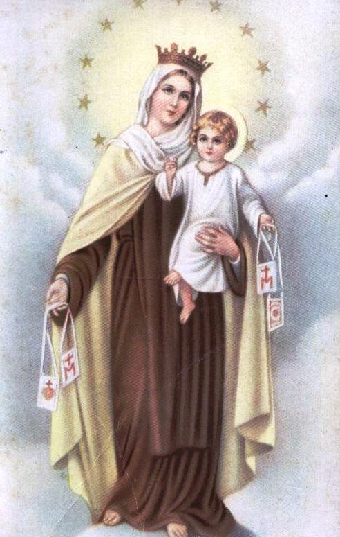 Club Vainillitas: Virgen del Carmen