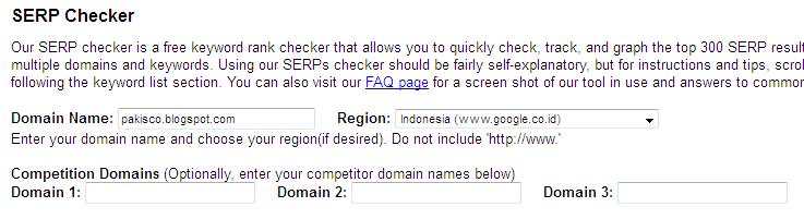 Domain name,region wajib diisi sedangkan domain 1,2,3 boleh dikosongkan