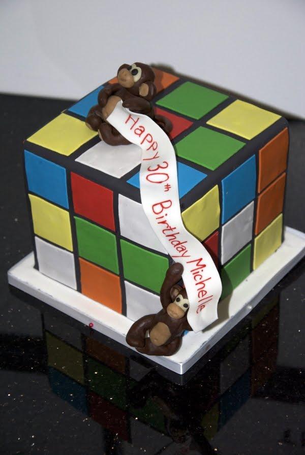 Cake Design Cubes Bebe