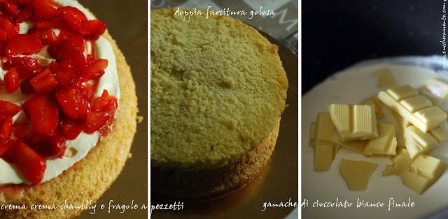 torta con macaron