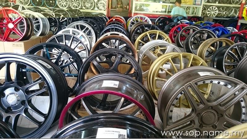 Sport rim kereta murah di Rawang?