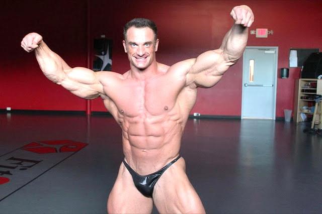 six star muscle: Dan Decker