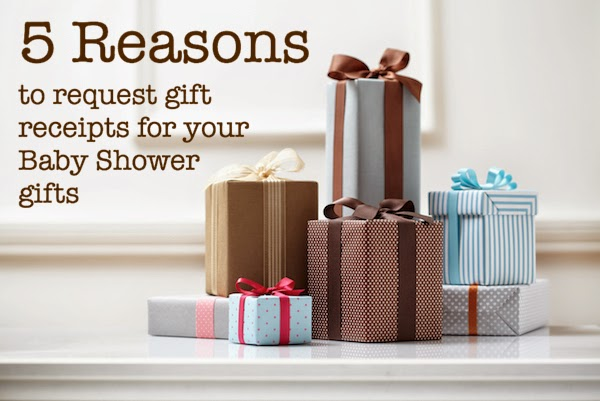 5 Reasons to Request Gift Receipts for Your Baby Shower Gifts - lemonandmint.ca