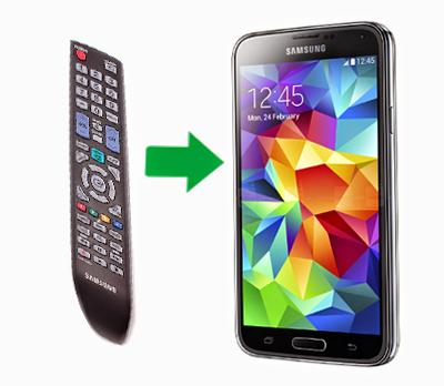 Menghidupakan Televisi Dengan Smart Remote Samsung Galaxy S5