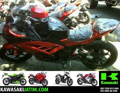 ninja 250SE ABS orange
