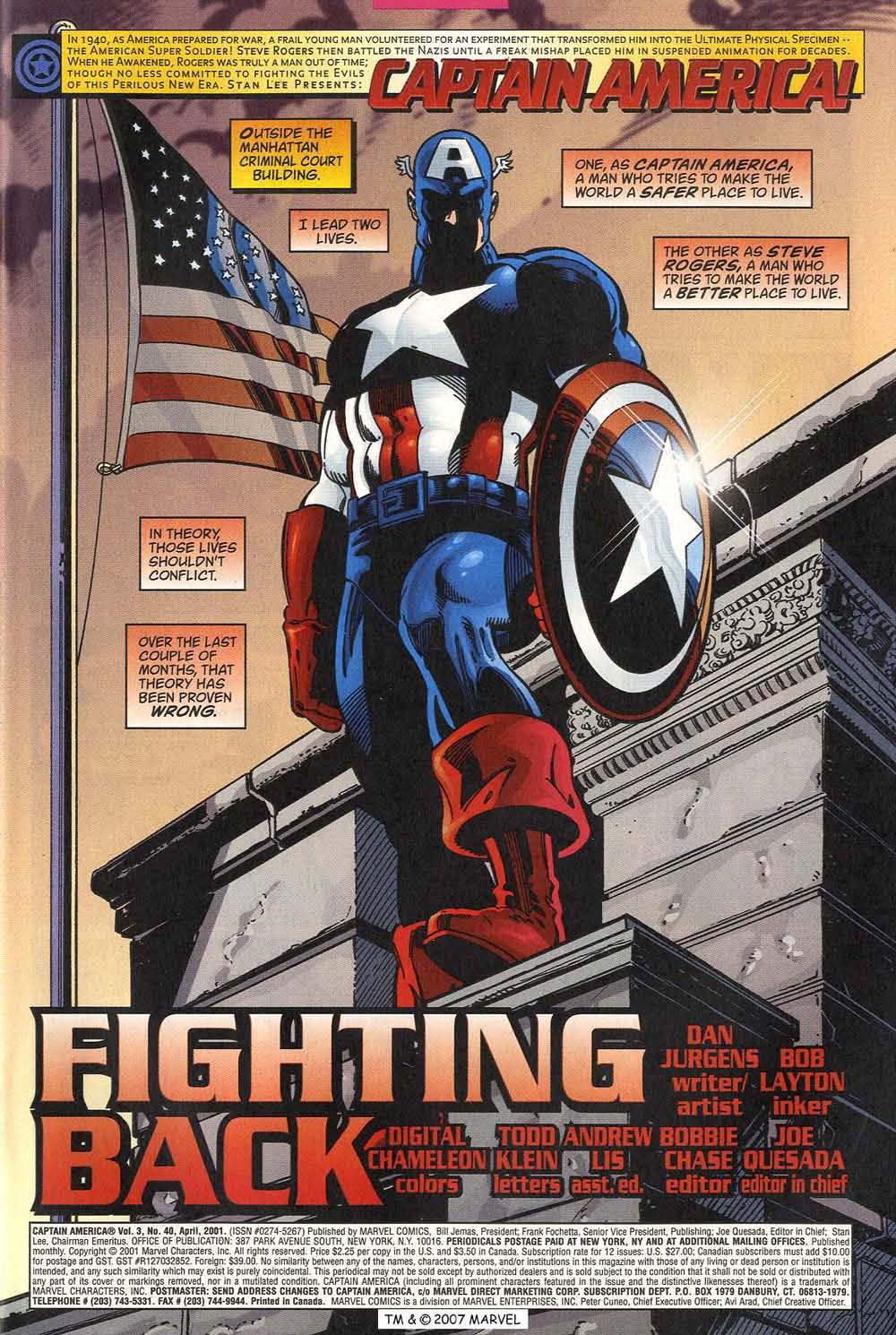 Captain America (1998) Issue #40 #47 - English 3