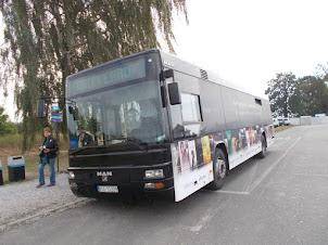 """Auschwitz Museum transit bus"" :- Transfer of tourists from ""Auschwitz I"" to ""Auschwitz- Birkeneau"""