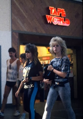 I love the 80's : TAPE WORLD! www.thebrighterwriter.blogspot.com