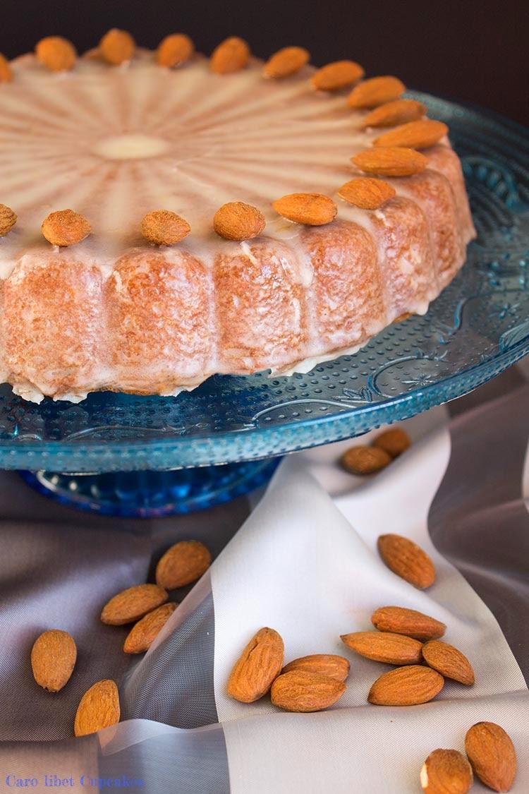 Orangen-Mandel Kuchen saftig