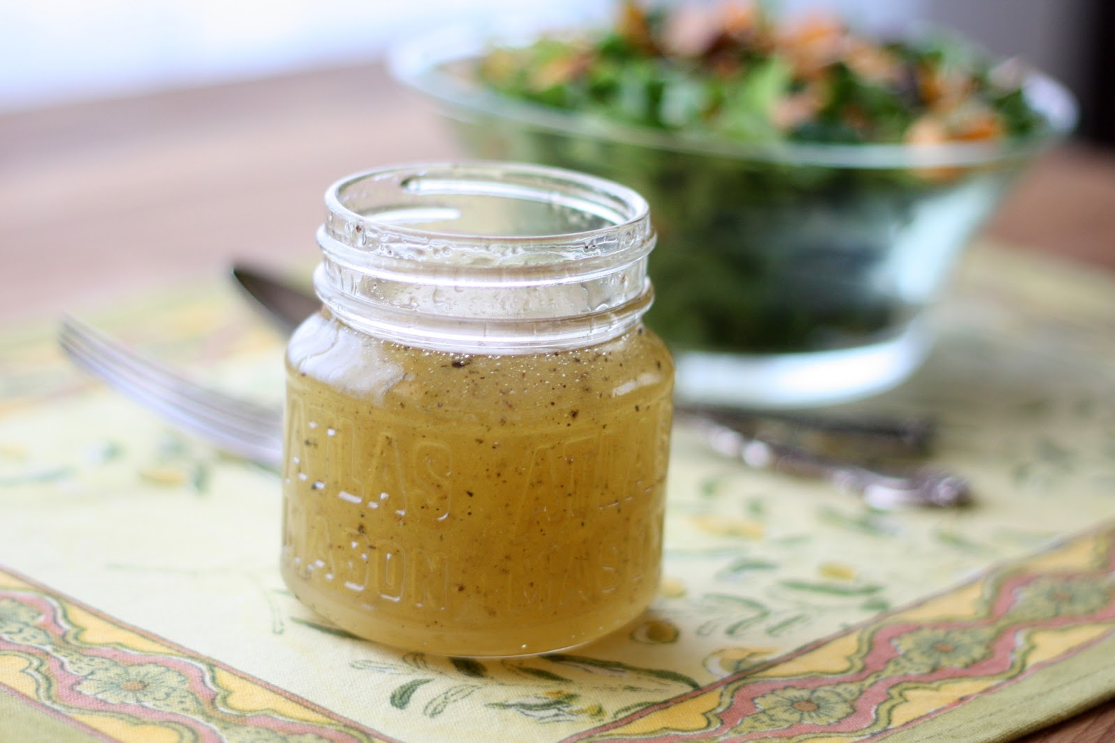 Barefeet In The Kitchen: White Balsamic Vinaigrette
