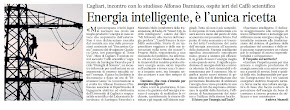 Energia intelligente,  l&#39;unica ricetta