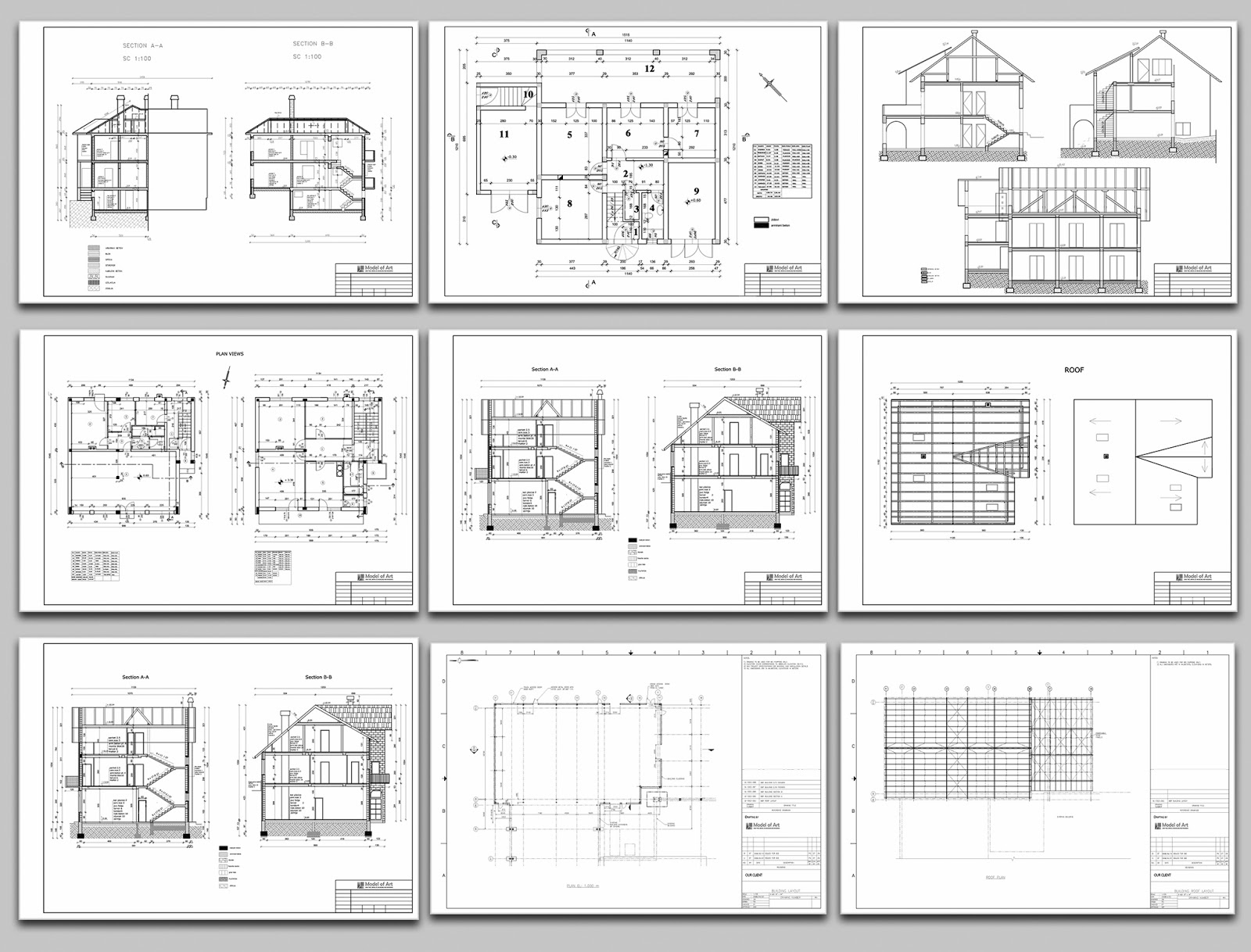 AutoCAD Drawings Samples
