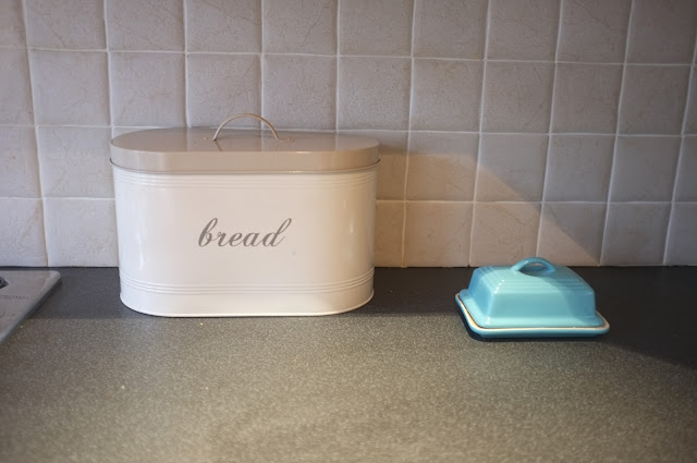 shabby chic butter dish