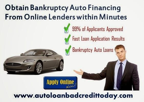 Car Loan Lenders After Bankruptcy