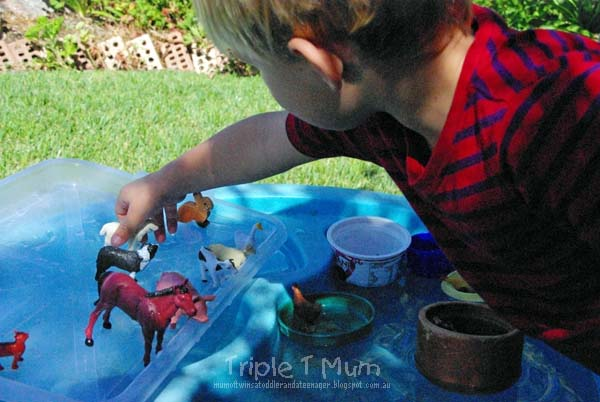 Dramatic Play at the Water Table